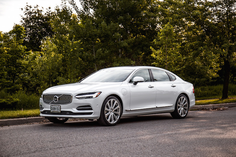 2018 Volvo S90 T8 Inscription white