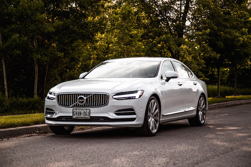 2018 Volvo S90 T8 Inscription crystal white metallic