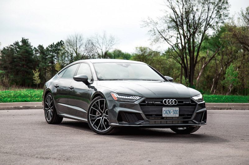 2019 Audi A7 daytona grey
