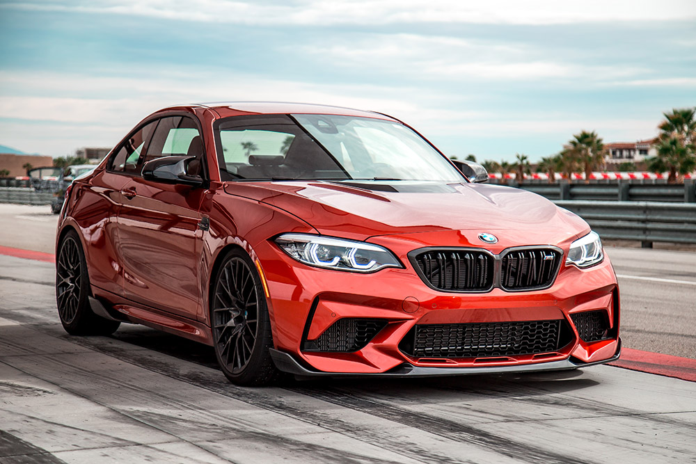 2019 BMW M2 Competition with M Performance Parts upgrades