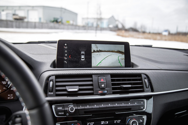 2019 BMW M2 Competition display infotainment