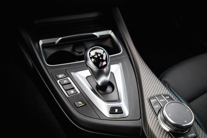 2019 BMW M2 Competition dct gear shifter