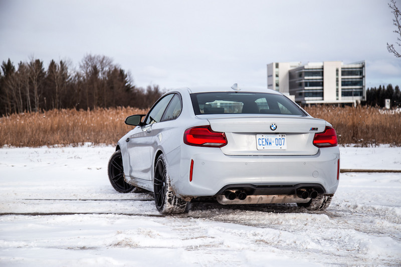 2019 BMW M2 Competition quad exhausts