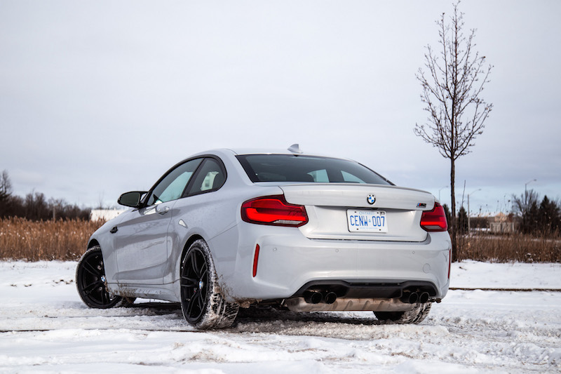 2019 BMW M2 Competition snow