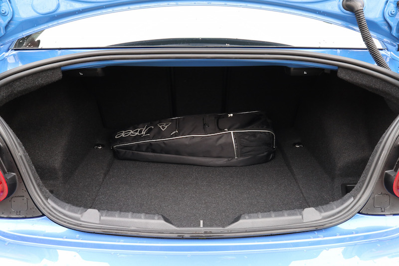 2019 BMW M240i xDrive Coupe trunk space