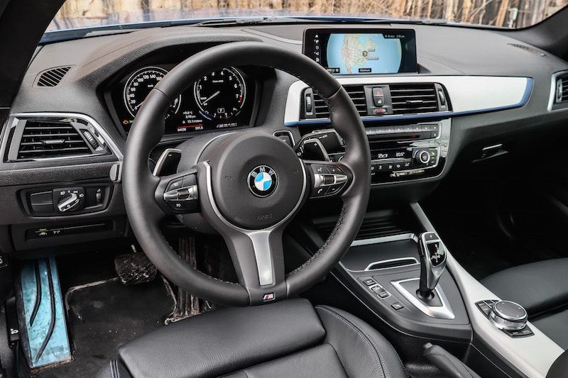 2019 BMW M240i xDrive Coupe black interior automatic 8-speed