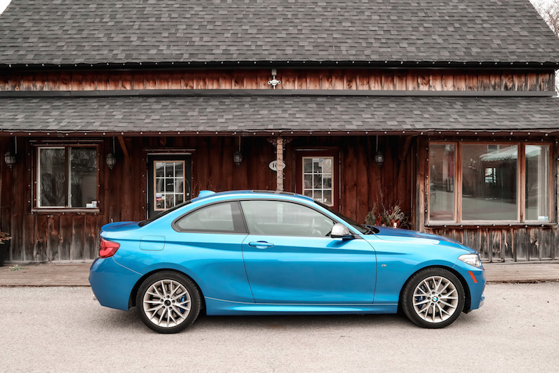 2019 BMW M240i xDrive Coupe side view
