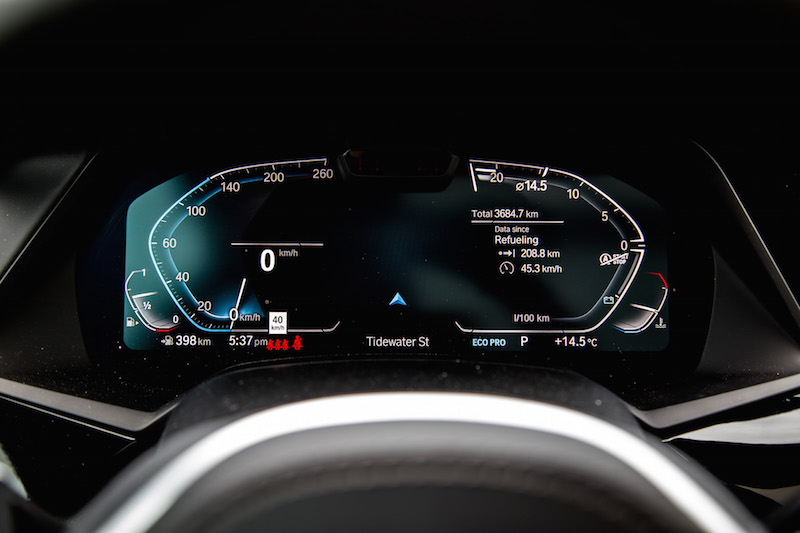 2019 BMW X5 xDrive 50i digital gauges