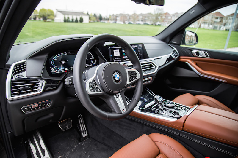 2019 BMW X5 xDrive 50i interior tartufo leather