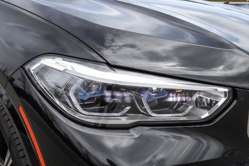 2019 BMW X5 xDrive 50i laser headlights