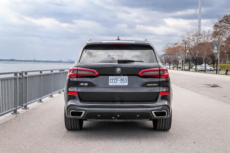 2019 BMW X5 xDrive 50i exhaust