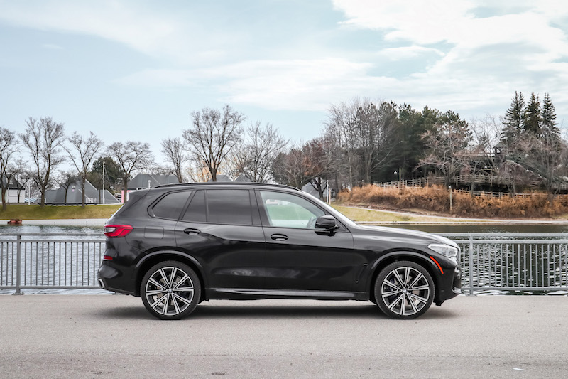 2019 BMW X5 xDrive 50i side view