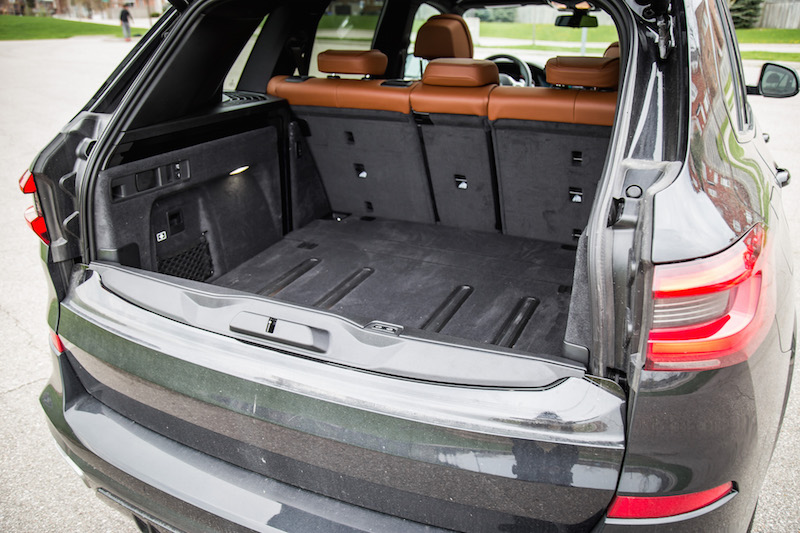 2019 BMW X5 xDrive 50i trunk split tail gate