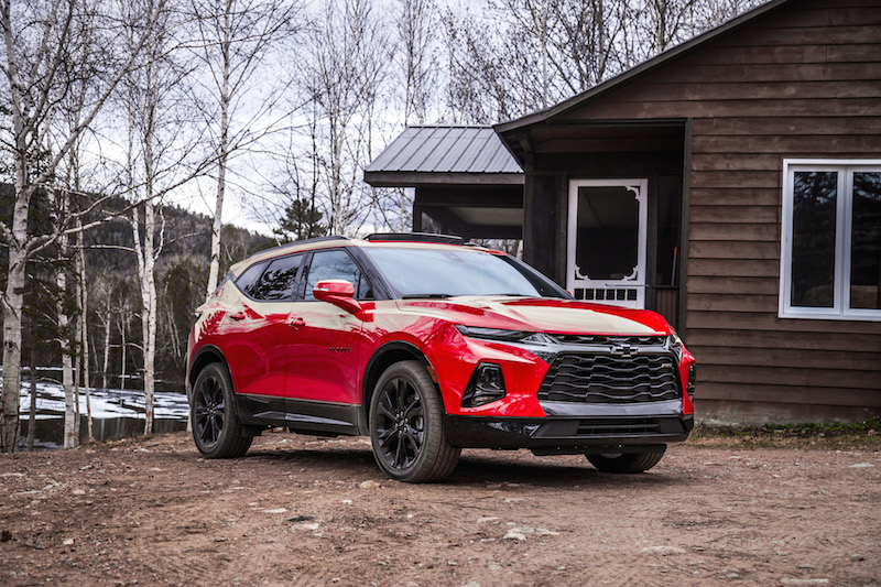 buy popular 21fce 6034a 2019 Chevrolet Blazer RS Red Hot paint ...