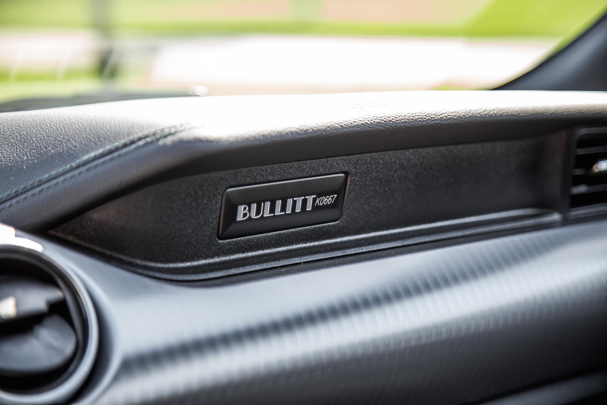 review  ford mustang bullitt car