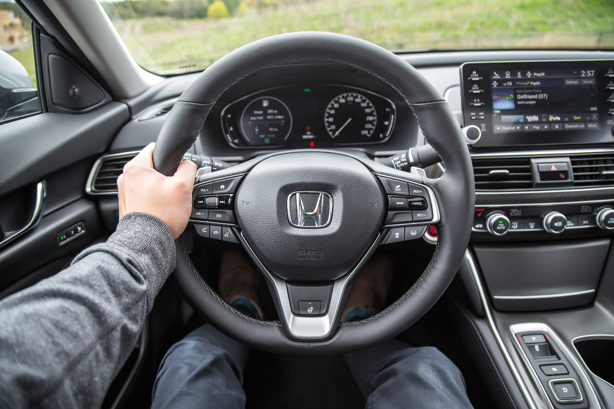 review  honda accord touring  car