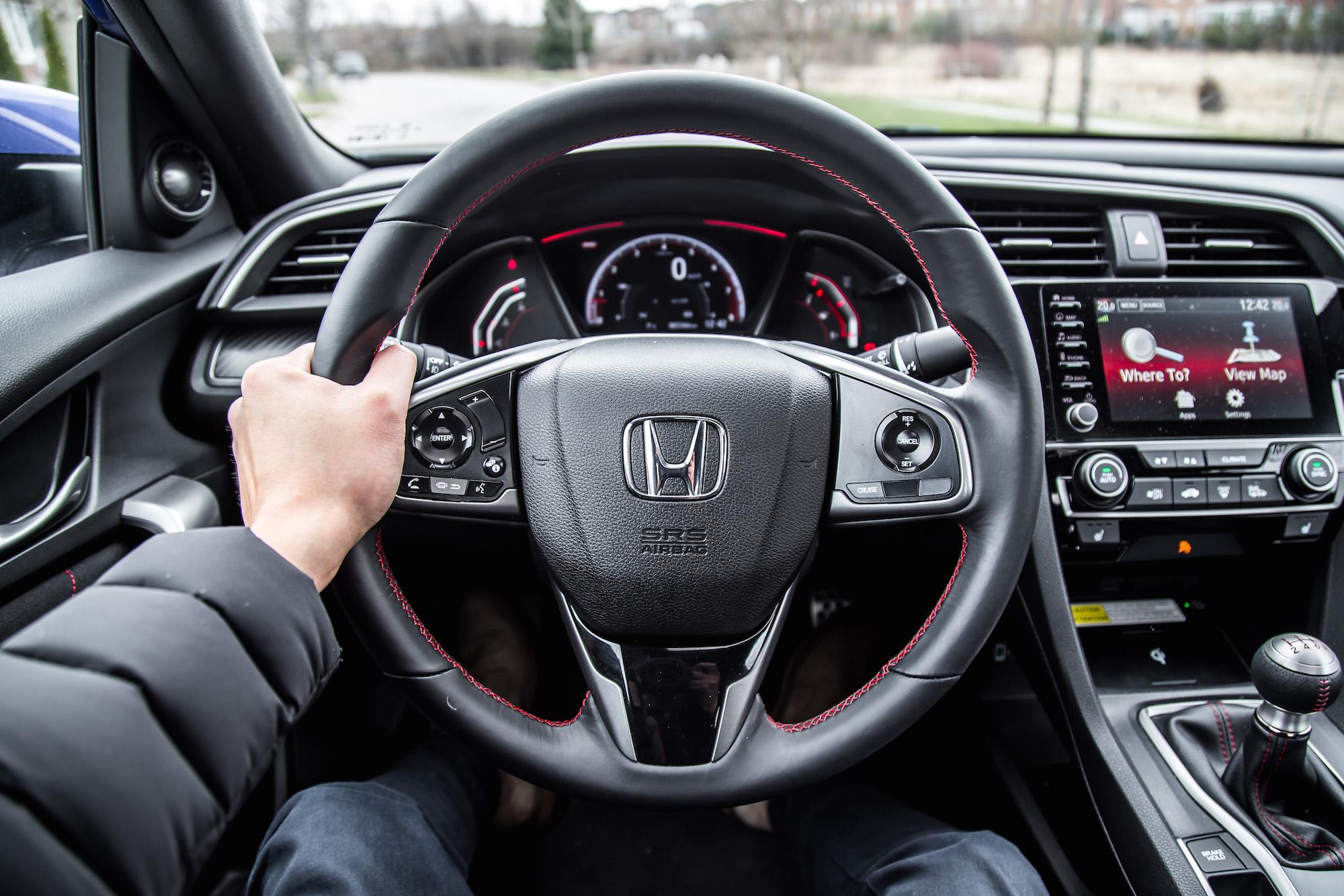 review  honda civic  coupe car