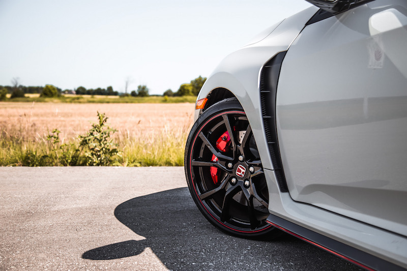 2019 Honda Civic Type R wheels rims tires