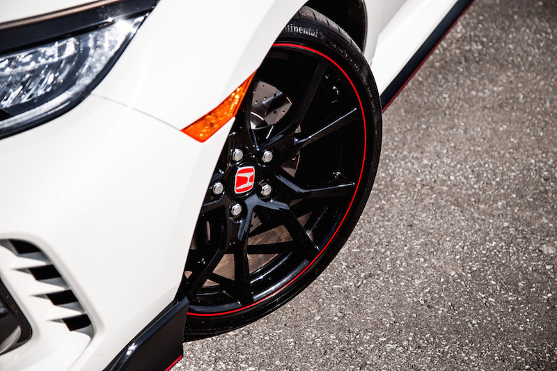 2019 Honda Civic Type R contisportcontact 6 tires