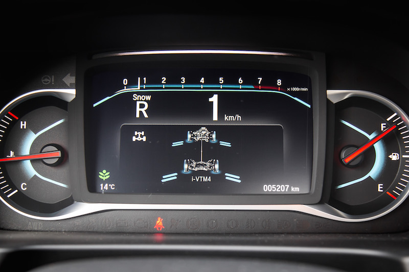 2019 Honda Passport Touring i-vtm torque vectoring real time display