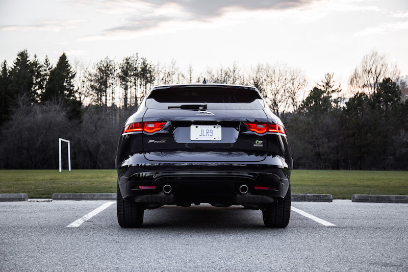 2019 Jaguar F-Pace S rear