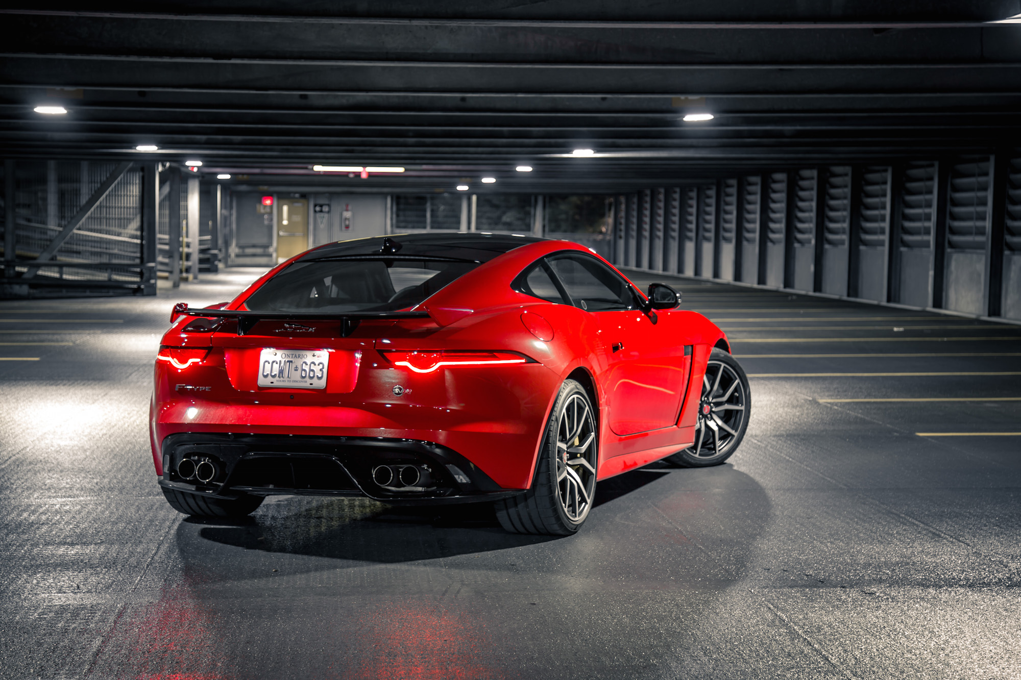 Review 2019 Jaguar F Type Svr Coupe Car