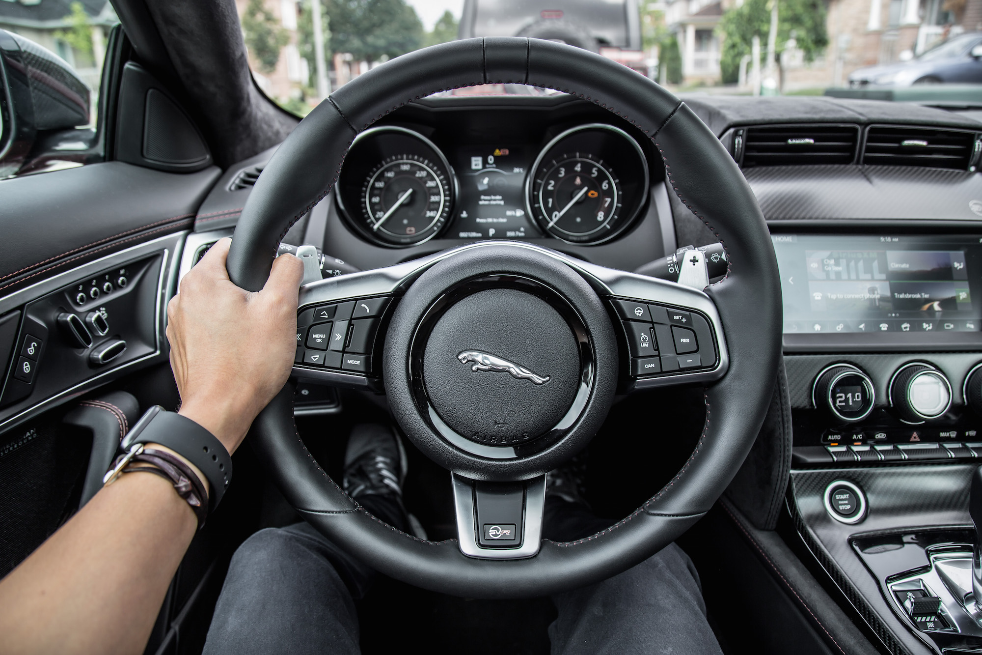 Jaguar F Type Coupe >> Review: 2019 Jaguar F-Type SVR Coupe | CAR
