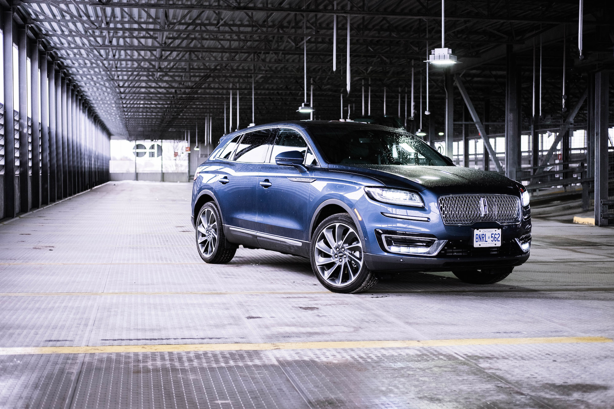First Look 2019 Lincoln Nautilus Canadian Auto Review
