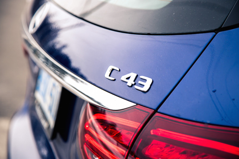 2019 Mercedes-AMG C 43 Wagon badge