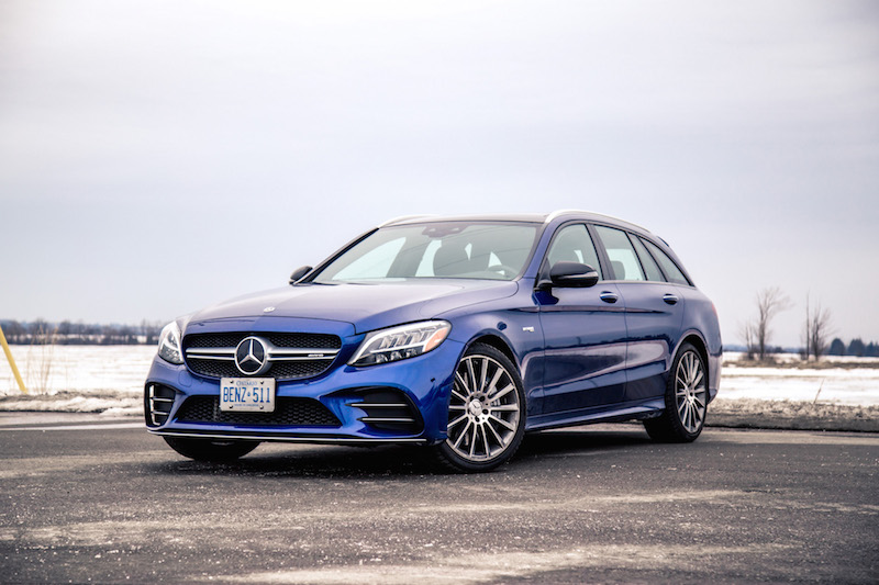2019 Mercedes-AMG C 43 Wagon blue