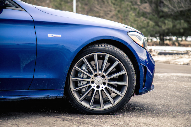 2019 Mercedes-AMG C 43 Wagon wheels tires snow