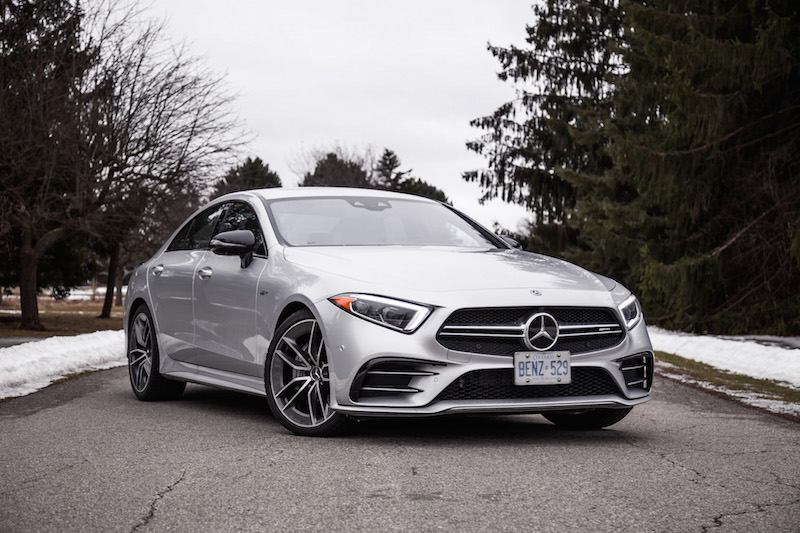2019 Mercedes-AMG CLS 53 front quarter view