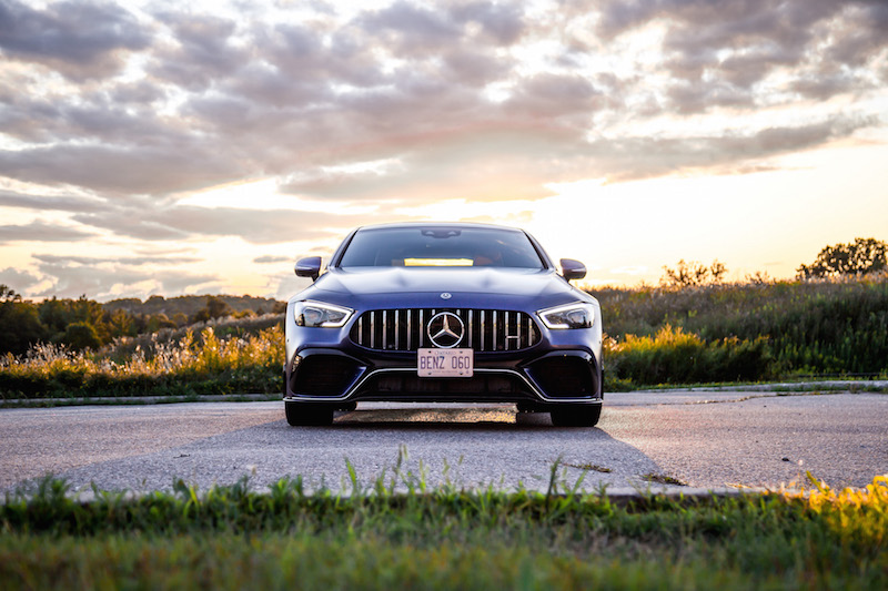 2019 Mercedes-AMG GT 63 S 4MATIC+ 4-Door Coupe front view