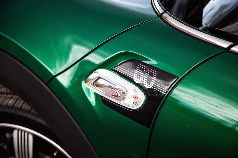 MINI Cooper S 60 Years Edition side fender scuttle badge