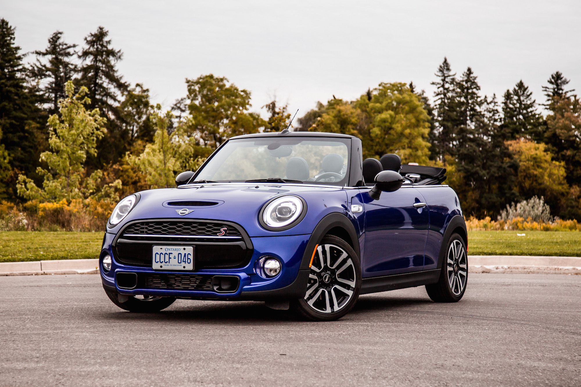 Review 2019 Mini Cooper S Convertible Starlight Blue Edition Car