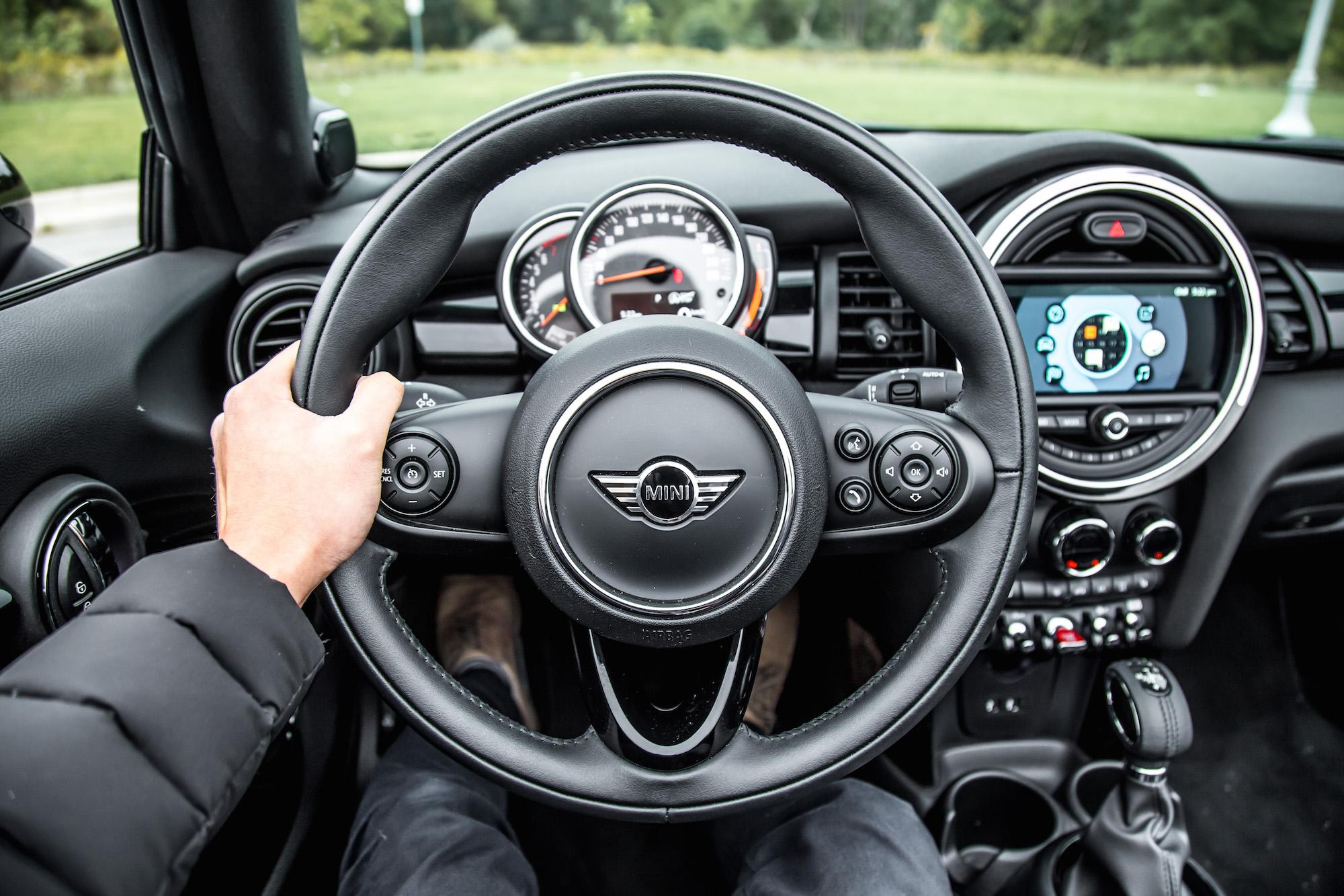 Review 2019 Mini Cooper S Convertible Starlight Blue Edition Car