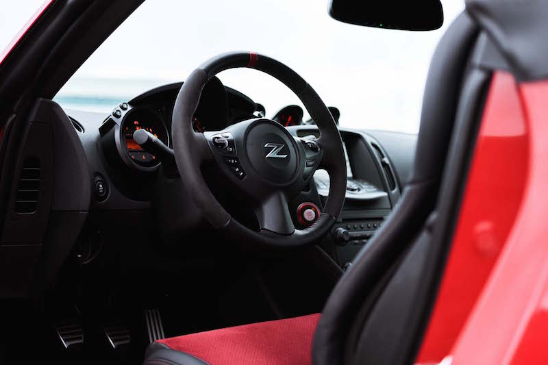 2019 Nissan 370Z NISMO interior steering wheel