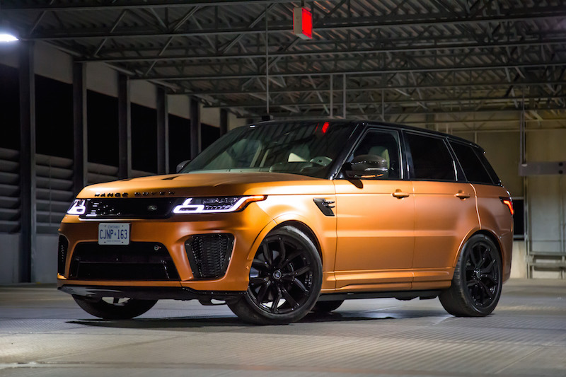 Review 2019 Range Rover Sport Svr Car