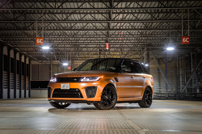 2019 Range Rover SVR madagascar orange