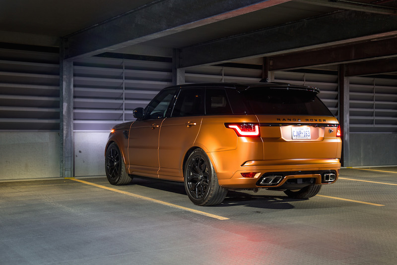 2019 Range Rover SVR svo orange