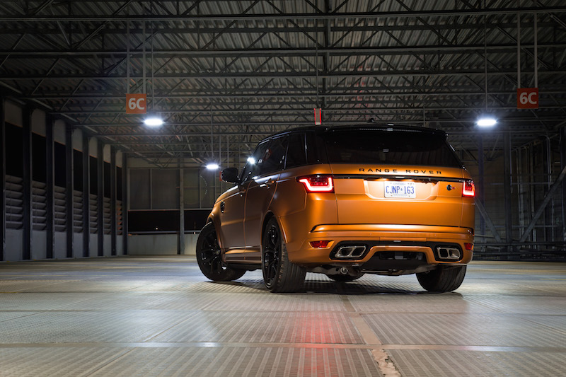 2019 Range Rover SVR matte orange