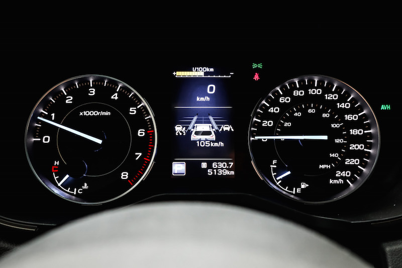 2019 Subaru Ascent gauges
