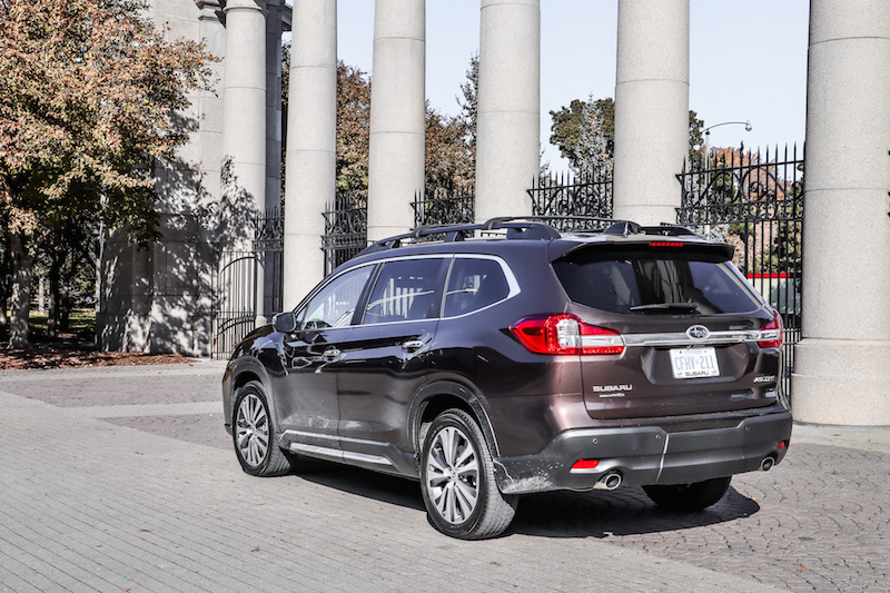 2019 Subaru Ascent brown paint colour