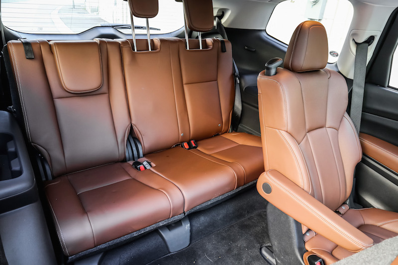 2019 Subaru Ascent third row seats