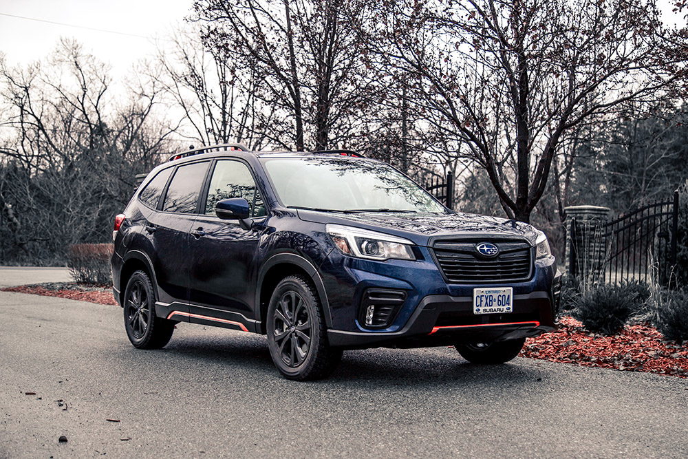 2019 Subaru Forester Sport canada review new