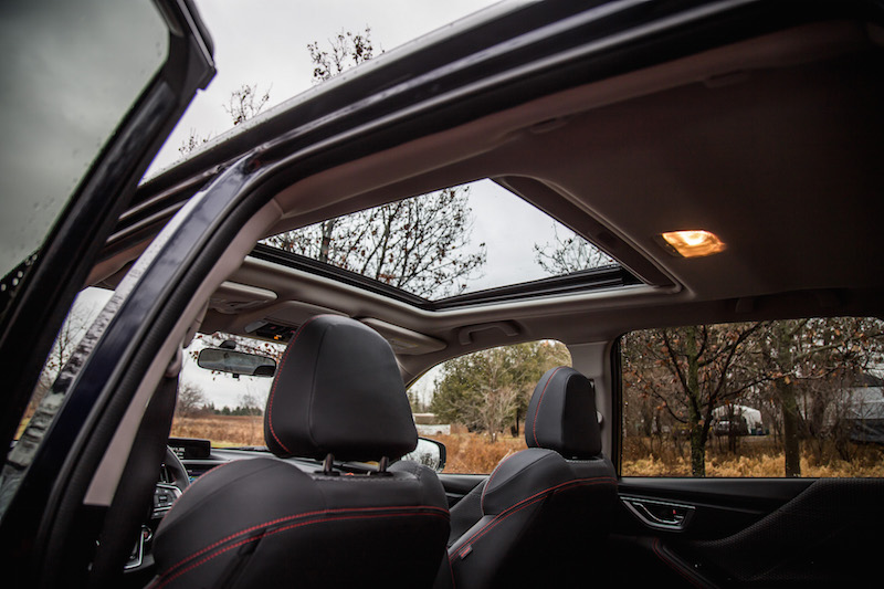 2019 Subaru Forester Sport panoramic sunroof