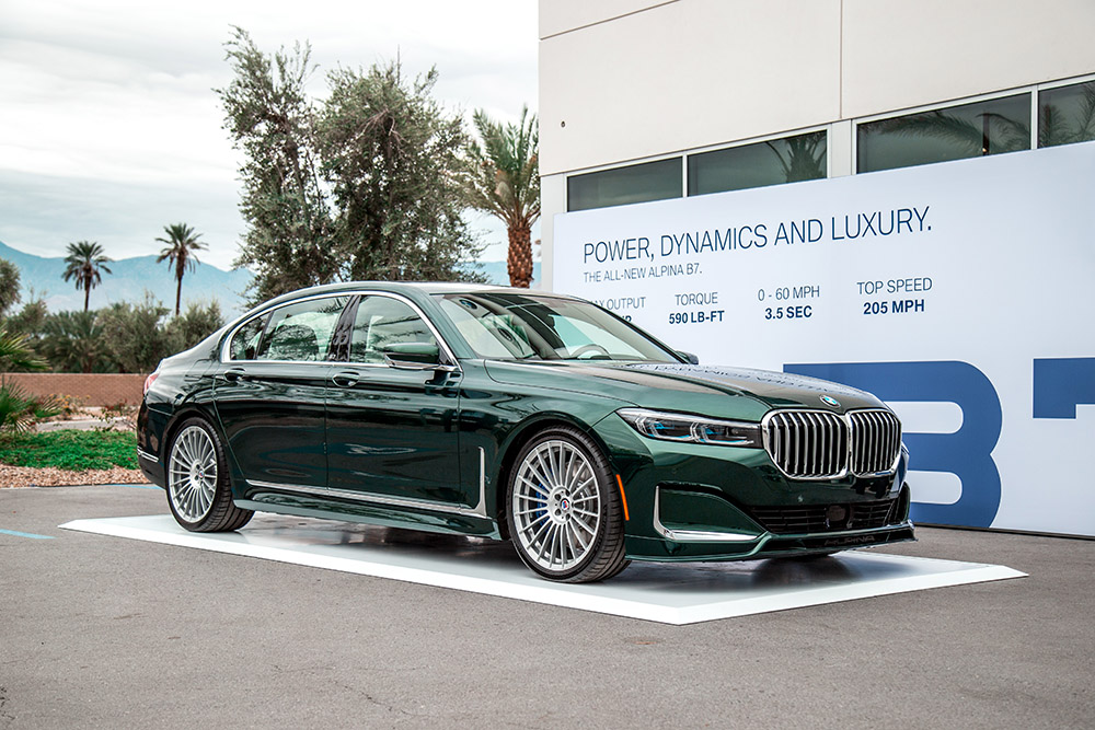 BMW Palm Springs >> First Look: 2020 BMW Alpina B7 xDrive | CAR