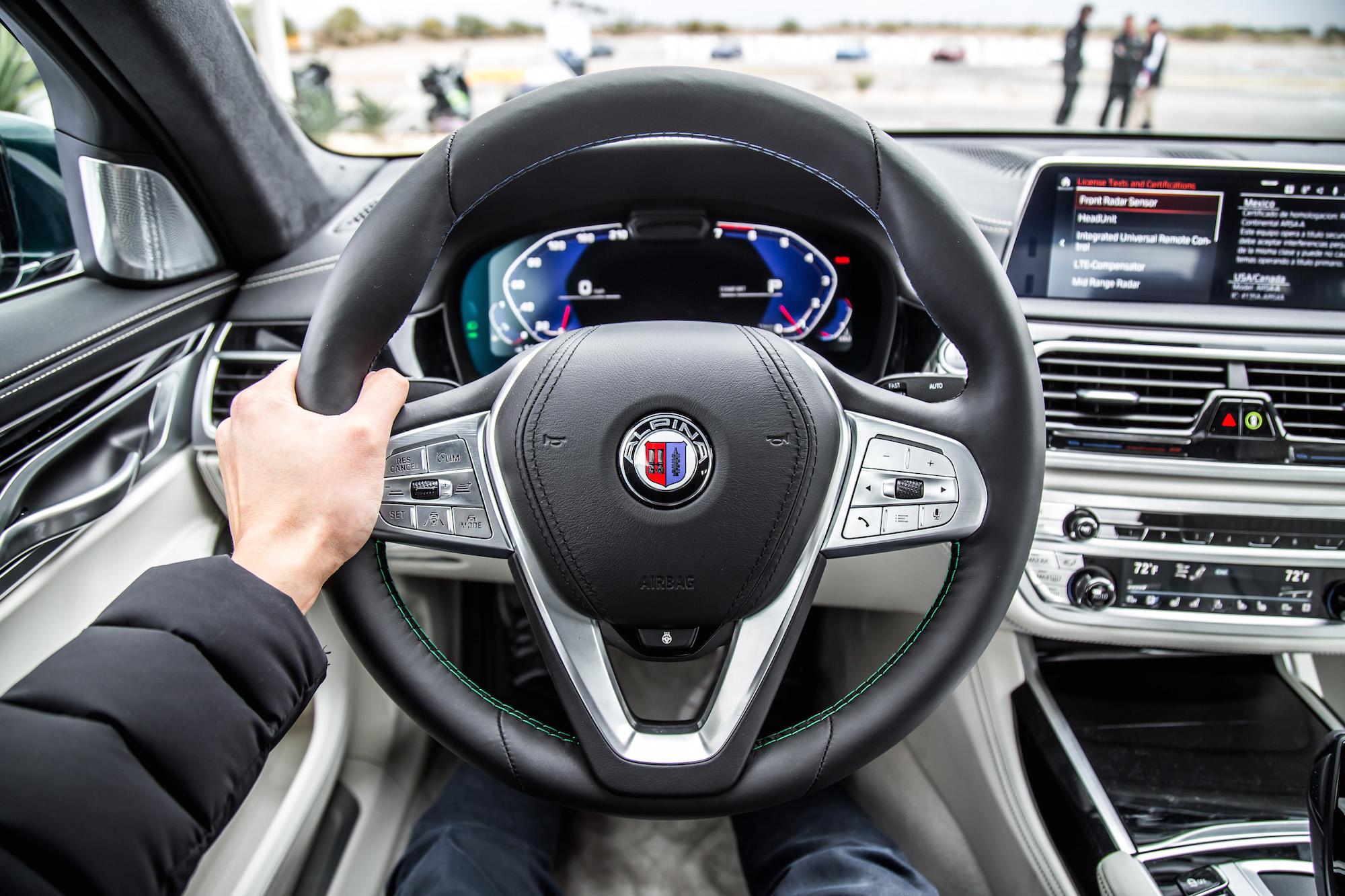 B Steering Wheel