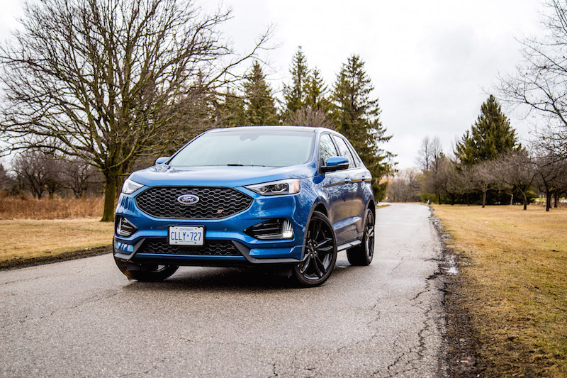 2020 Ford Edge ST blue canada