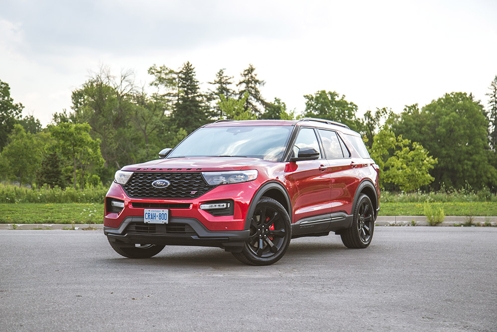 Review 2020 Ford Explorer St Canadian Auto Review